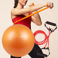Exercise Bands, Tubing and Balls