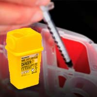 Sharps Containers/Needle Disposal